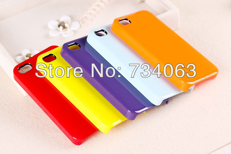 Nes Arrival Cute Candy Ice Cream Glossy Hard Case Cover Skin For iPhone 4 4S Free Shipping MOQ:1000 KLO2(China (Mainland))