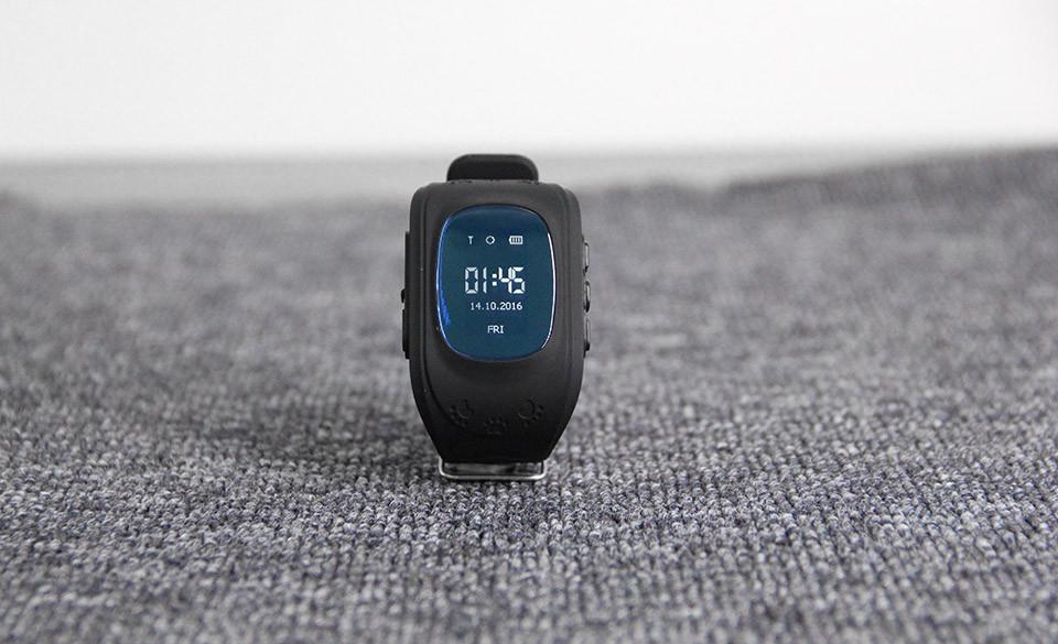 image for Q50 GPS LBS SOS Kids Children Anti-Lost Smart Watch Tracker Locator Sm