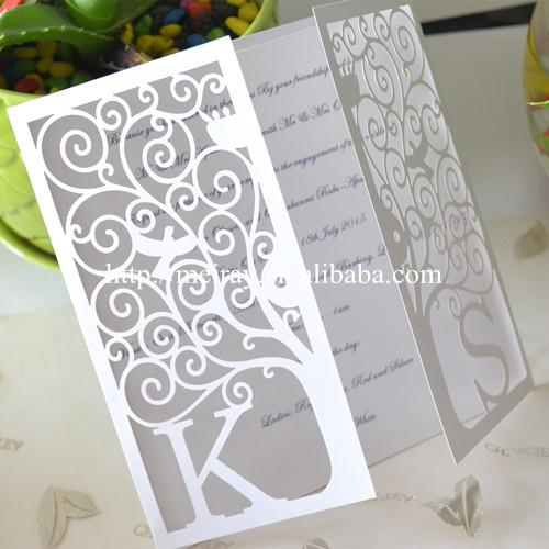 Cheap wedding invitations modern, laser cut christian wedding cards, wedding decoration(China (Mainland))