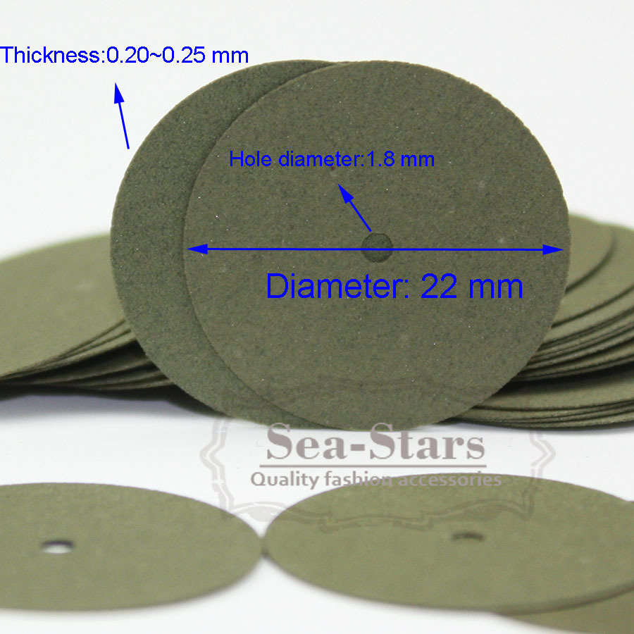 New Band 100 Pcs Green Resin Sand Piece Seperating Discs Dental Grinding On Sale(China (Mainland))