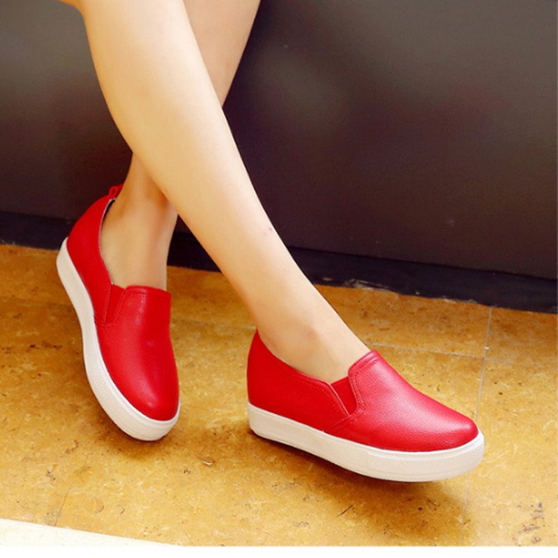 Plus Size 30-44 Woman Elegant Retro Round Toe Flats Sexy Casual Slip On Sexy Ladies Dress Shoes Woman Dress Shoes<br><br>Aliexpress
