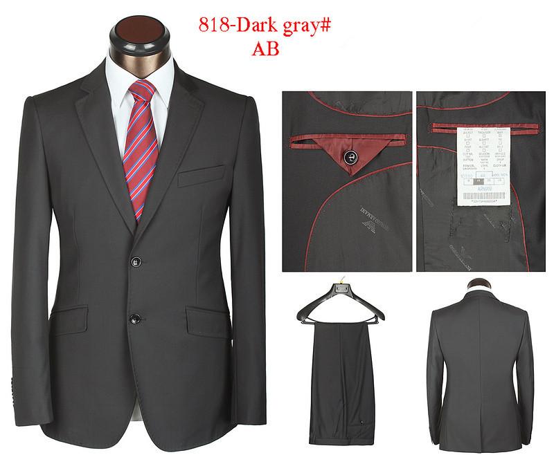 Бренд бизнес костюм мужчины в роскошь 2 кнопки свадьба платье блейзеры куртки + брюки xs-4xl ar818