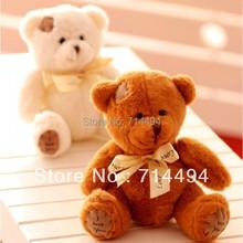 Free shipping 3 pieces/lot Mini 15cm I Love You Beggar Bear Patch Bear Teddy Bear Plush Bear Toys,High Quality,Birthday Gift(China (Mainland))