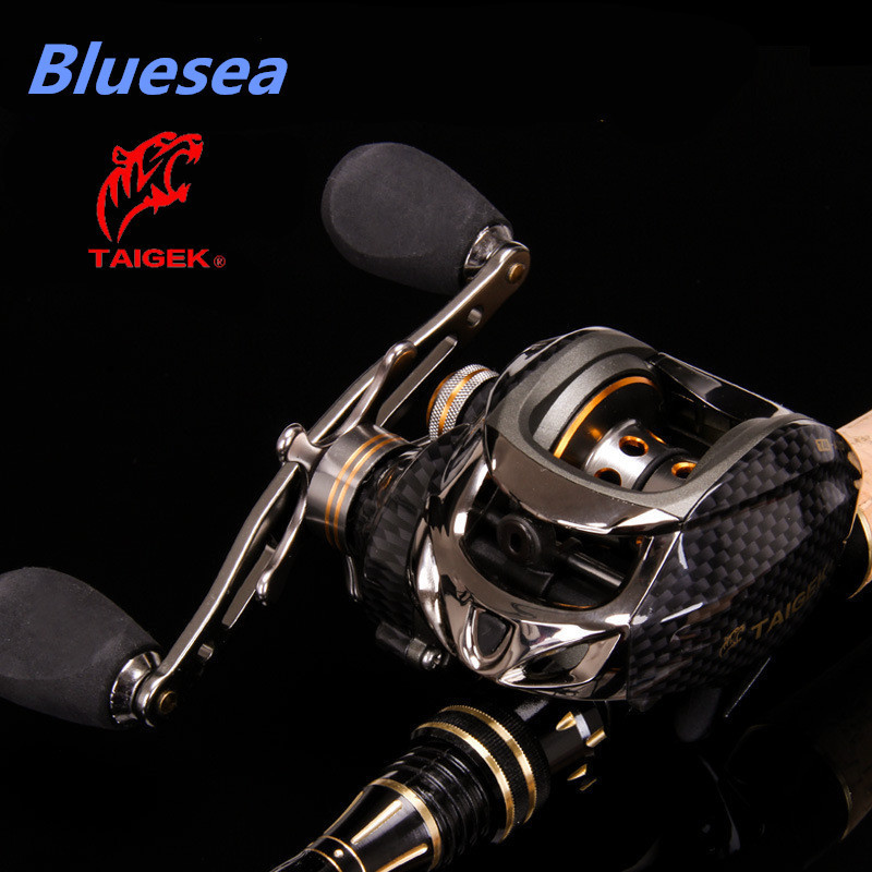 Bluesea HOT SALE Fishing Bait casting reel Water Drop reel Wheel 18+1BB 6.3:1 Metal magnetic 2 Break Systems Right Left Hand(China (Mainland))