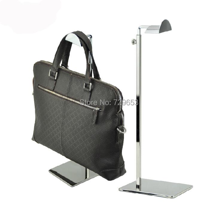 Metal Women Bags Handbag Display Rack Stand Adjustable Handbag Display Stand Bag Purse Holder(China (Mainland))