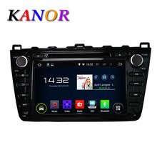 1024*600 Quad Core Android 5.1 car dvd gps for Mazda 6 Ruiyi Ultra 2008 2009 2010 2011 2012 Autoradio Multimedia Audio Stereo BT(China (Mainland))
