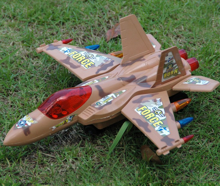 Electric light music Falcon fighter combat helicopters electric flash music children toys(China (Mainland))