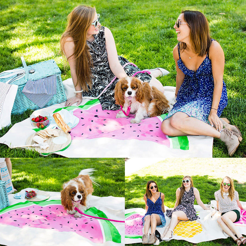 140x150cm Outdoor Picnic Mat Camping Baby Climb Blanket Beach Pool Shower Towel Picnic Blanket kids playing Mat(China (Mainland))