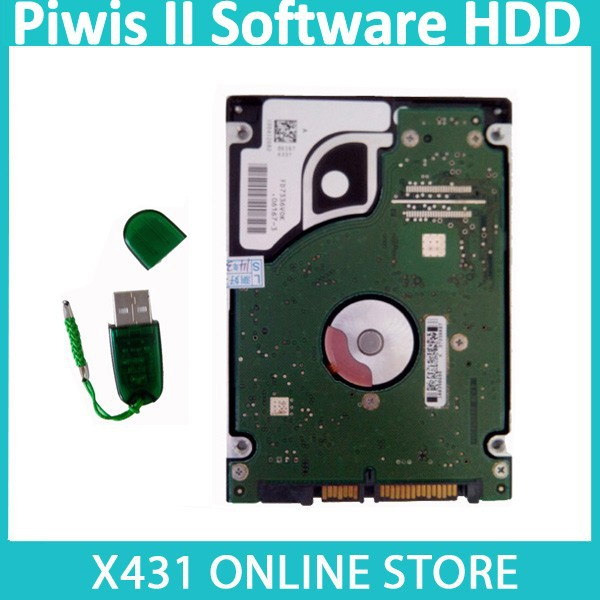 2015 New Arrival Piwis II Software HDD Version V15.350 Piwis Tester 2 HDD Diagnostic Software For Dell For Lenovo For Panasonic(China (Mainland))