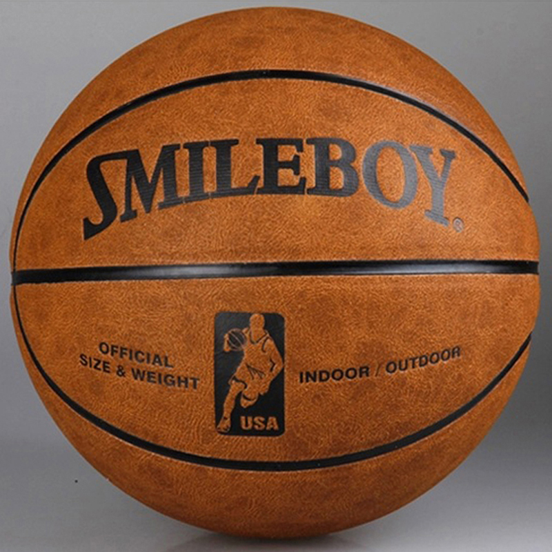 SMILEBOY Size7 Top Quality American Official PU Leather Basketball PU Basketball Sports Basketball(China (Mainland))