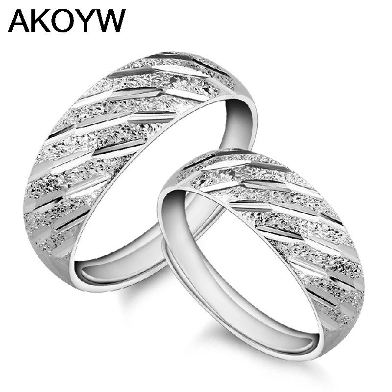 Silver plated opening meteor shower rings fashion jewelry wholesale manufacturers of high-quality matte Starry one pair(China (Mainland))