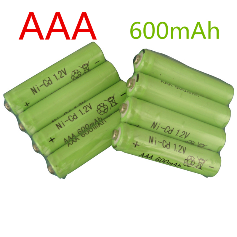 3pcs Free shipping AAA 600mAh 1.2 V Quanlity Rechargeable Battery AA NI-CD 1.2V Rechargeable 2A Battery Baterias Bateria AAA aaa(China (Mainland))