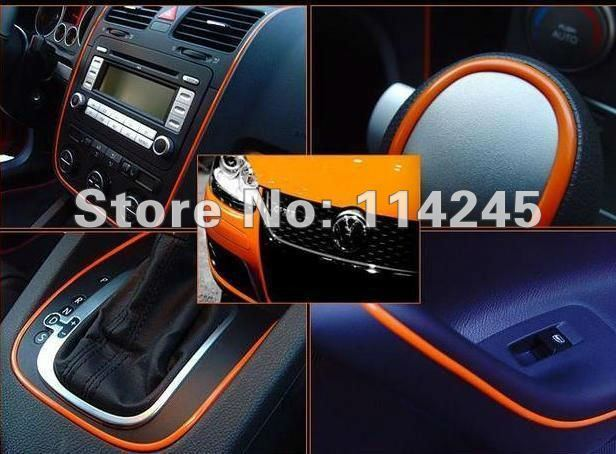 2015 NEW Products FREE SHIPPING ! Auto Car Interior Decoration moulding Trim Strip line(High quality 4 colors)