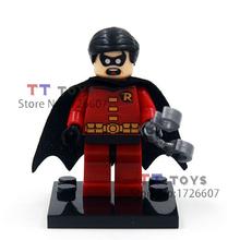Single sale DC Marvel super hero batman deadpool harley quinn Minifigures Collection Building Block Best Children Gift Toy(China (Mainland))