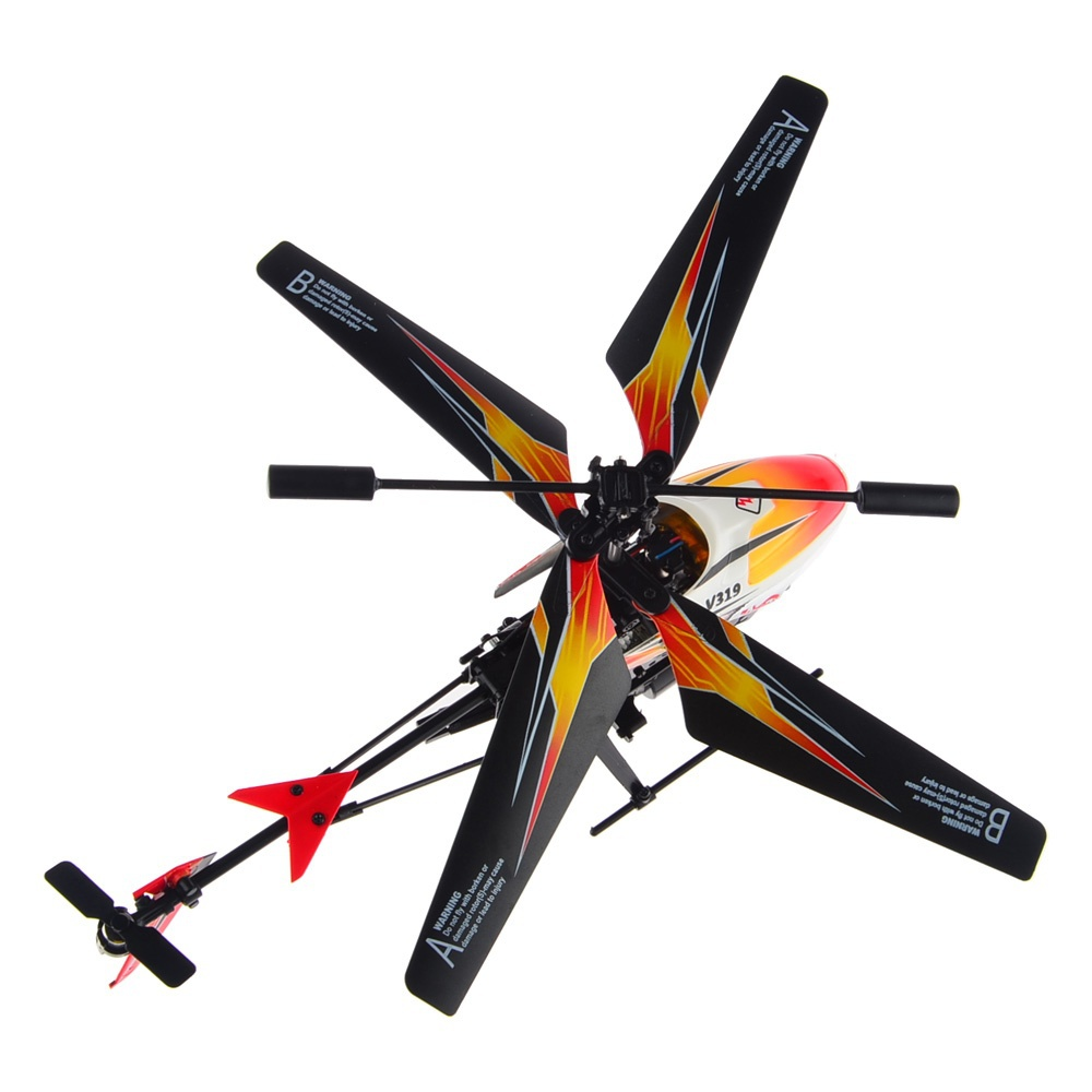1pcs WLtoys V319 RC Helicopter Drone 3 5CH IR Fountain Gyro Helicoptero de Controle Remoto for