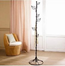European Iron Clothes Hanger Stand Creative perchero de pie Bedroom Coat Rack Pastral Tree Coat Stand 44cm*44cm*170cm(China (Mainland))
