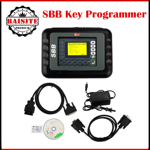 2016 Latest OBD2 Key Programmer New Slica SBB Key Programmer V33.02 Version SBB car key programming machine DHL Free Shipping(China (Mainland))