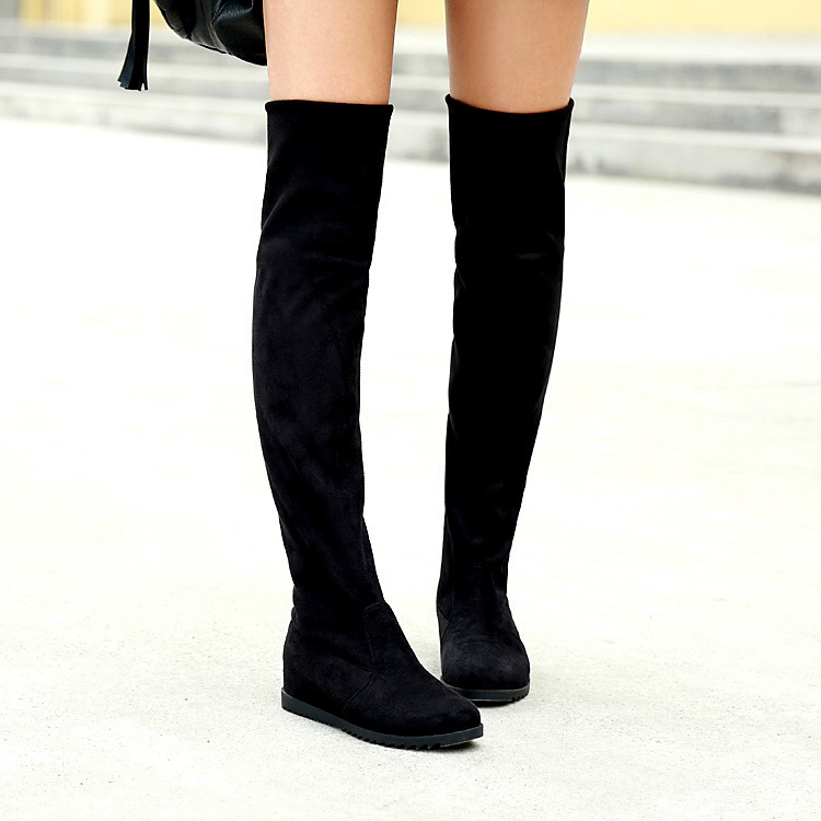 2013 spring single boots womens shoes flat heel boots flatbottomed womens spring and autumn boots tall boots over-the-knee<br><br>Aliexpress