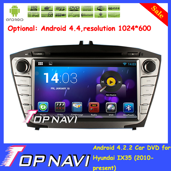 Gift Free Shipping Android 4.4.2 Car DVD GPS Player for Hyundai IX35 2010 2011 2012 2013 2014 2015 with Radio GPS Wifi 3G BT Map<br><br>Aliexpress