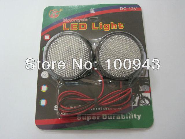 Motorcycle LED Decoration flashing light turning light,warning light (2pcs for 1 set)