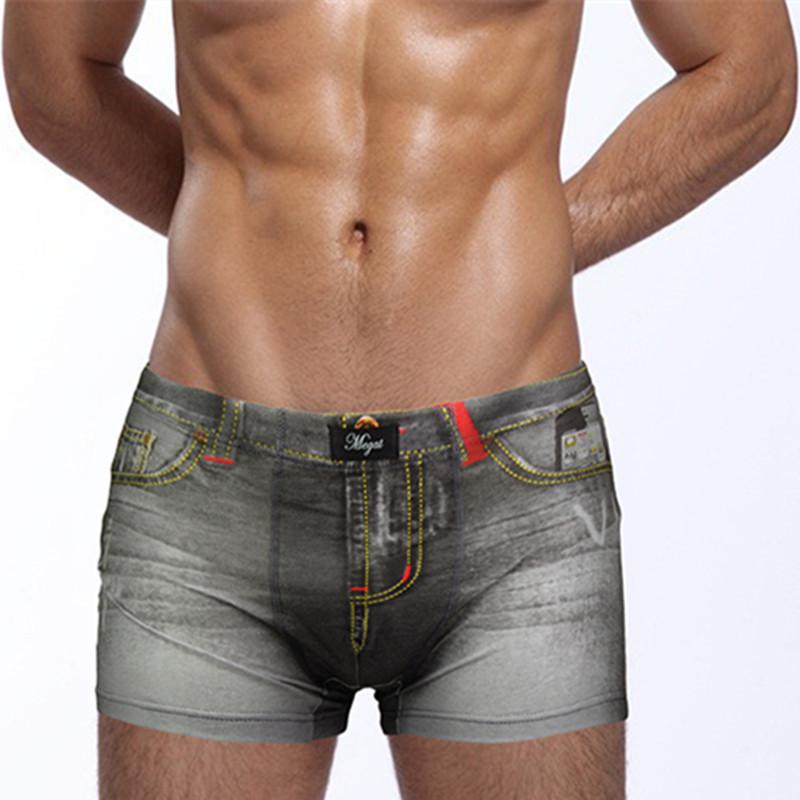 2015 HOT SALE cotton underwear men sexy mens underwear boxers cartoon mens cotton boxer shorts print