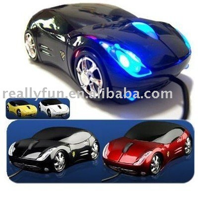 Optical Mouse,sports car mouse Laptop Mouse freeshipping
