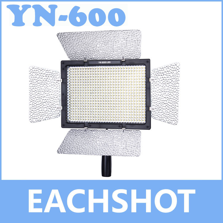 Yongnuo YN-600, Yongnuo YN-600 5500K color temperature LED video light for Camcorder or DSLR Cameras<br><br>Aliexpress