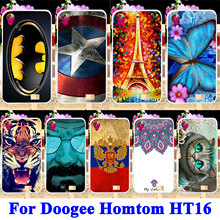 Buy Soft TPU Silicon Phone Cases Doogee Homtom HT16 Shell Covers Tiger Captain American Batman Housing Bag Skin Shield Hood Case for $1.68 in AliExpress store