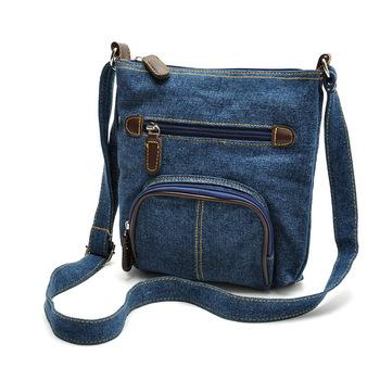 2015 новинка женская сумочка мини сумка телефон сумка женская сумка кошелек синий джинсовая сумка почтальона сумочки сумка Crossbody сумки Sg271