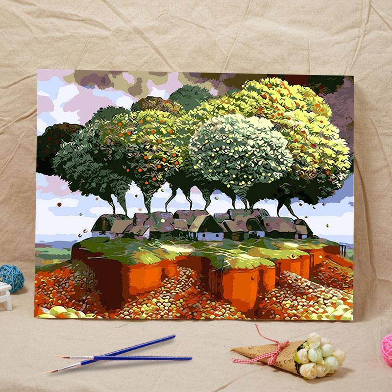Popular house acrylic paints buy cheap house acrylic for Gift craft home decor