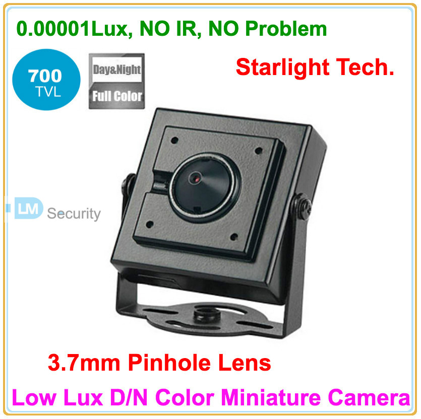 Popular Sony CCTV Super Low Lux 0.00001Lux Day and Night Color Image Mini Camera CCD Security Camera with 3.7mm Pinhole lens(China (Mainland))