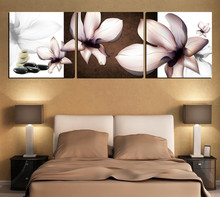 Free Shipping Hot Sell 3 Panels Modern Wall Painting black and white picture Home Decorative Art Picture Paint on Canvas Prints(China (Mainland))