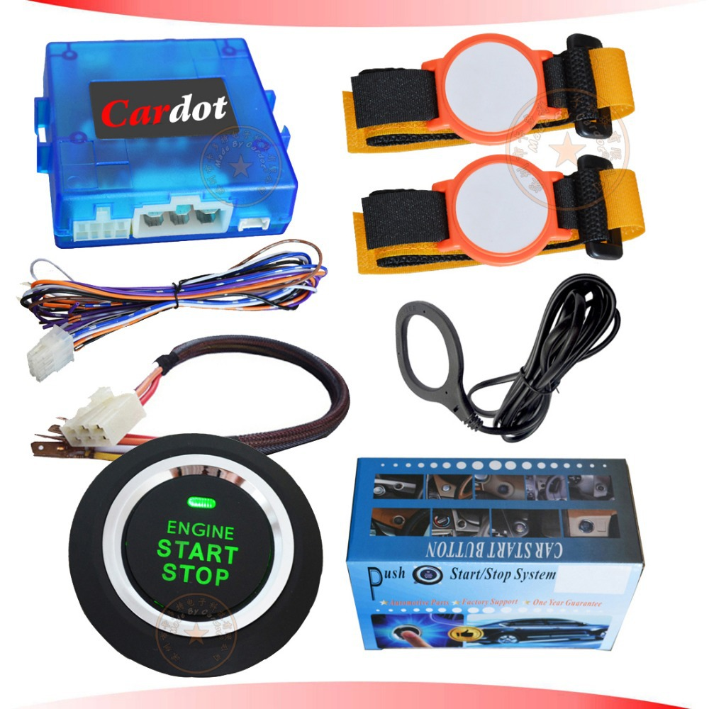 Diesel Engine Start Stop System : Aliexpress buy new rfid wrist band car alarm system