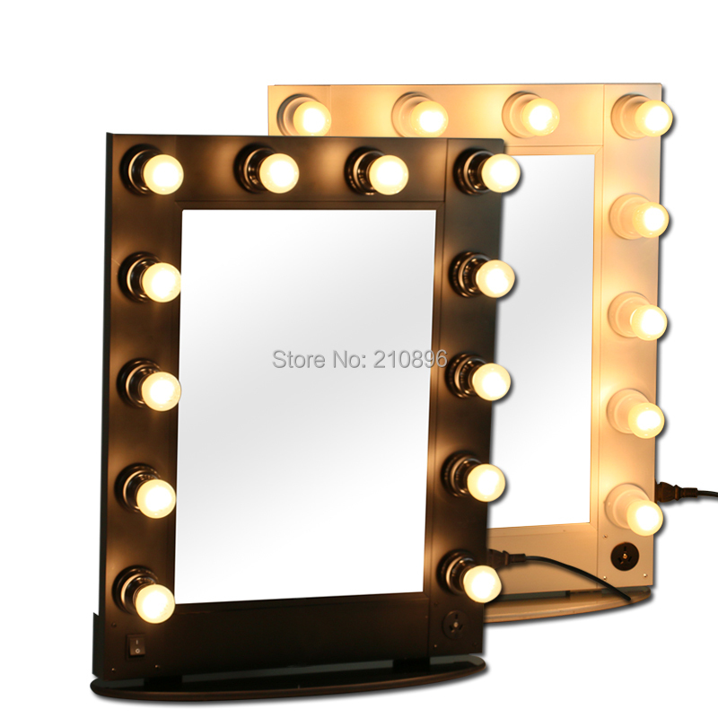 lighted makeup mirrors metallic cosmetic case makeup case light. Black Bedroom Furniture Sets. Home Design Ideas