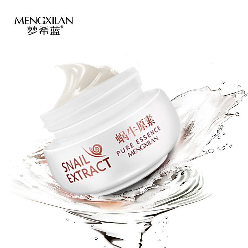 MENXILAN Snail Essence Moisturizing Face Cream Face Skin Care Lift Firming Anti Winkles Ageless Whitening Cream Treatment Acne(China (Mainland))