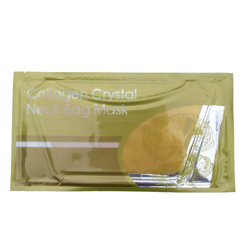 Gold Collagen neck mask firming neck lines yellow color removal palette to nourish Collagen crystal Neck bag Mask
