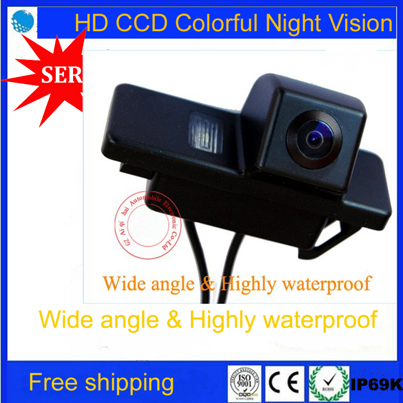Factory promotion Special CCD Car Rear View Reverse Camera backup rearview parking for NISSAN QASHQAI Nissan X-TRAIL X TRAIL(China (Mainland))