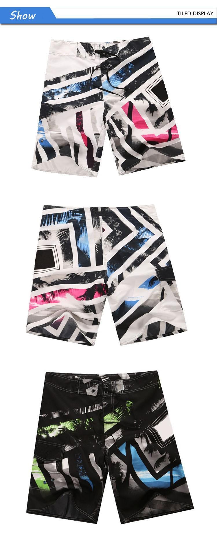 Wholesale brand mens swimwear bermuda masculina beach wear sport male surf <font><b>board</b></font> swim <font><b>shorts</b></font> men boardshorts plus size 30-38