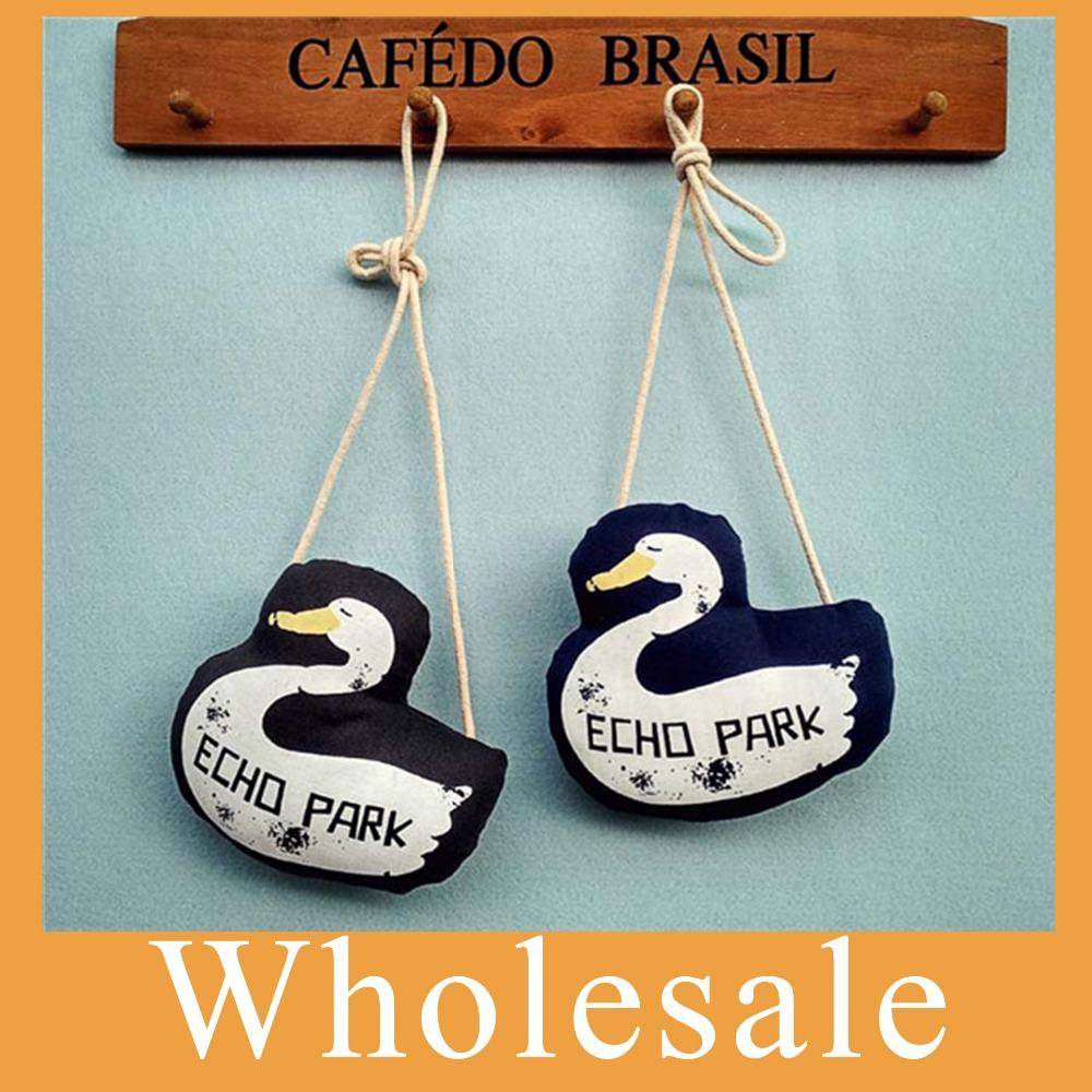 Wholesale 10pcs/lot Children canvas shoulder bag cartoon 3D goose kids messenger bag fashion cloth cute mini purse free shipping(China (Mainland))
