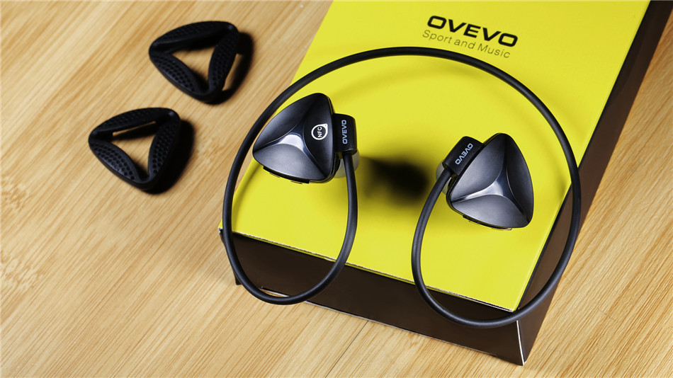OVEVO SH03B Sports Bluetooth Headset Stereo Running Headphones Wireless Earbuds Auriculares Earphone For Phone With Microphone