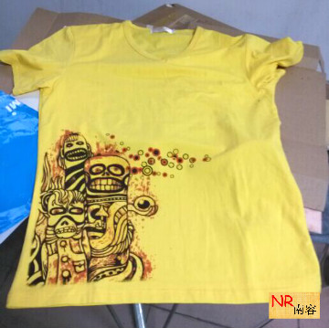 Nanron A4 Small Flat Inkjet printer machine directly print on dark/light t-shirt with White Color(China (Mainland))