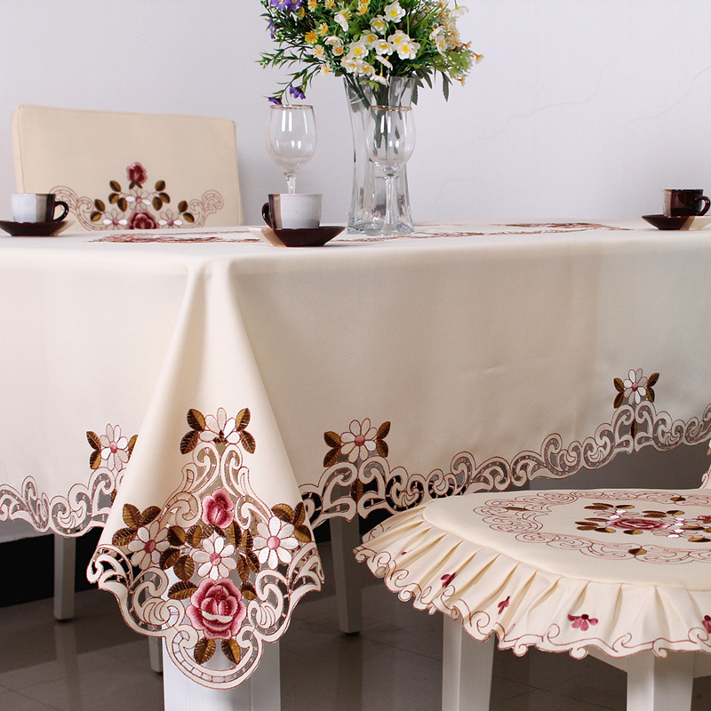 "209# square 130cm/51"" hot sale waterproof house design tablecloth table mat table cover wholesale(China (Mainland))"
