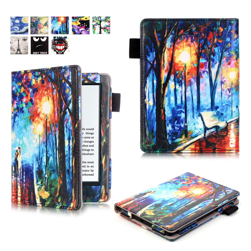 Slim Smart Magnet Wake/Sleep Case Cover for Amazon All-New Kindle 2016 Shell Bags for All New Kindle 2016 Case(China (Mainland))