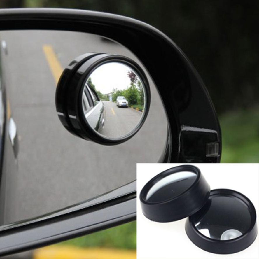 Новое поступление для автомобиля 2 шт. круглый придерживайтесь-на выпуклой заднего слепое пятно зеркало установить новые