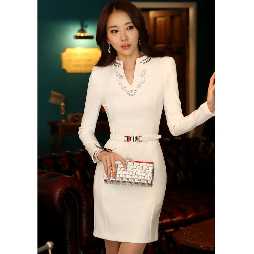 Perfect Summer Women Casual Dress Bodycon Party Dresses Office Pencil Dress