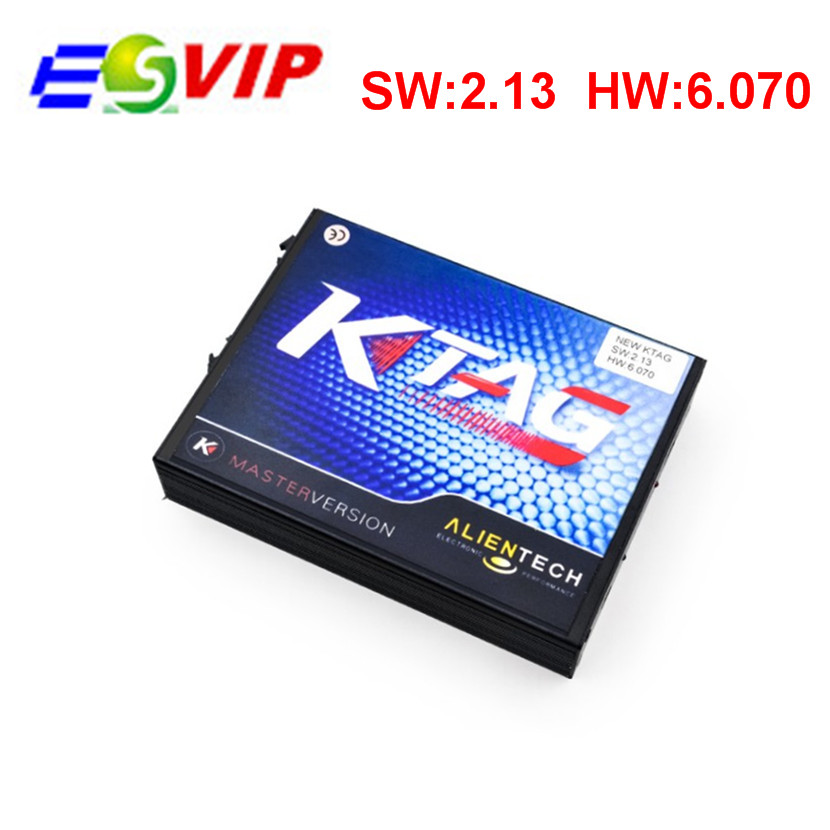 2016 Top selling V2.13 KTAG K-TAG ECU Programming Tool Master Version Hardware V6.070 k tag Unlimited tokens(China (Mainland))