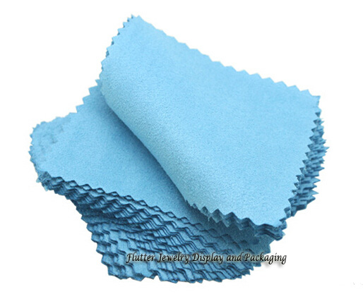 100pcs/lot Silver Jewelry Cleaning Gold Cleaner Polishing Cloth 80x80mm Cheapest Double Sides Cotton Flannels Fabric(China (Mainland))