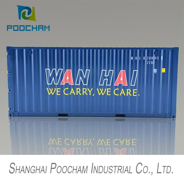 plastic scale model containers, mini WAN HAI container scale models for sale, Logistics Industry Business Gifts(China (Mainland))