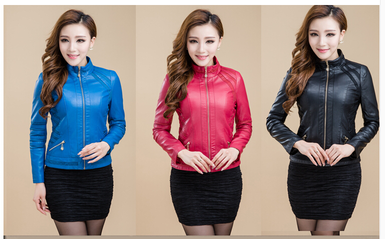 2014 Hot sell brand genuine leather women large size jacket coat womens Custom Fit genuine leather jacket coat women coat M-4XLОдежда и ак�е��уары<br><br><br>Aliexpress