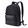 2016 Fashion New Nylon Backpack Men Waterproof Stars And Rivet Ornament Casual Daypack Travel Bag Women